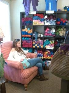 anna chair yarn