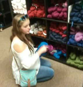 knees yarn