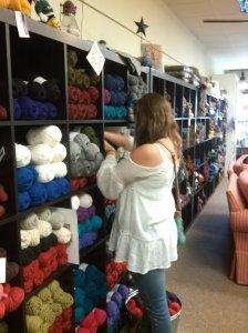 wall yarn