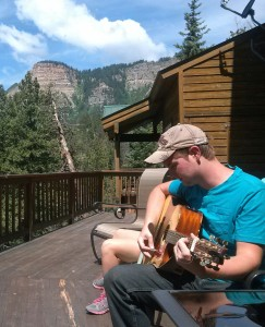 A Colorado vacation may not be on the itinerary, but listening to my son IS.